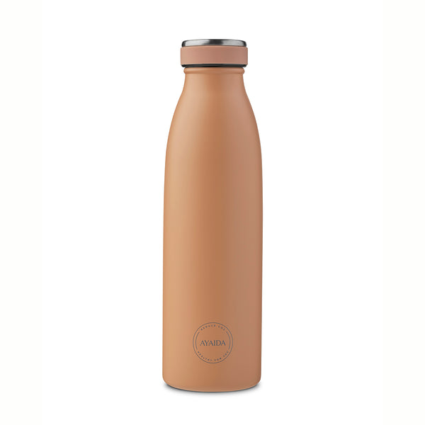 Stainless steel bottle (apricot)