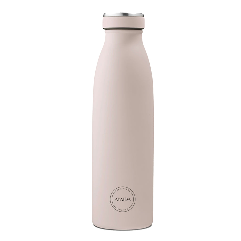 Stainless steel bottle (soft rose)