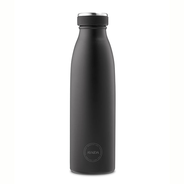 Stainless steel bottle (matte black)
