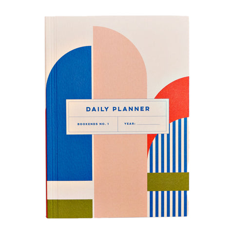 Daily planner - Bookends No 1
