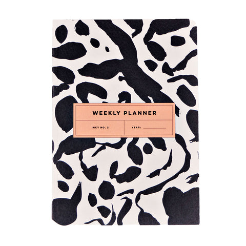 Weekly planner - Inky No.2