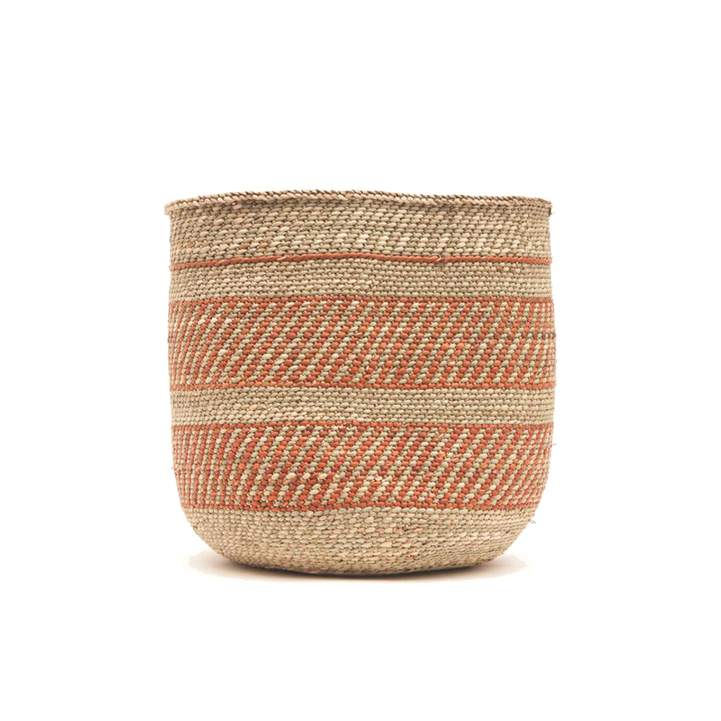 Milulu grass basket (terracotta)