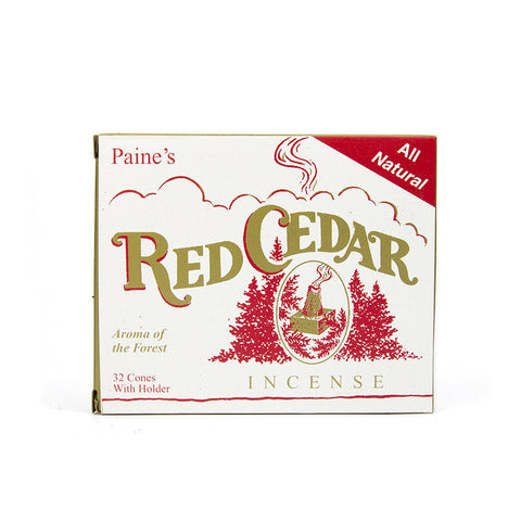 Red cedar incense