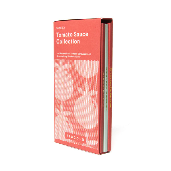 Tomato sauce seed collection