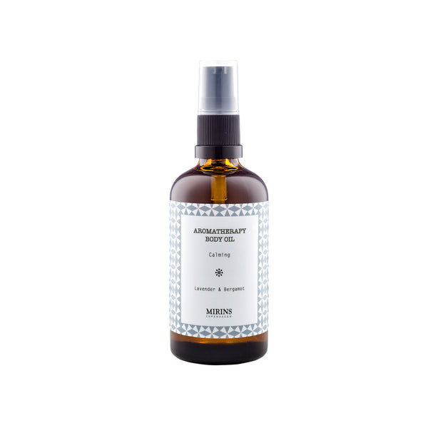 Calming blend body oil