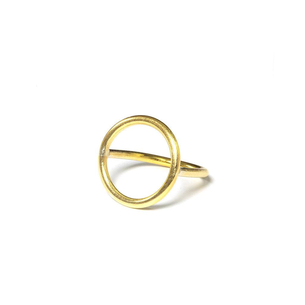 Circle ring (brass)