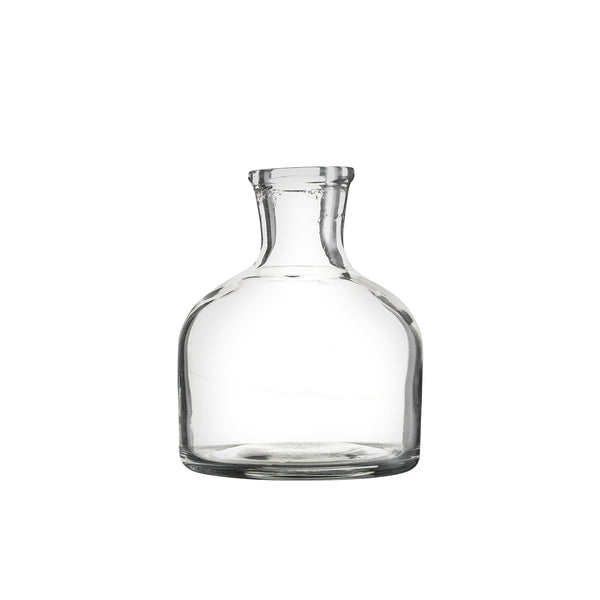 Small glass vase (short)