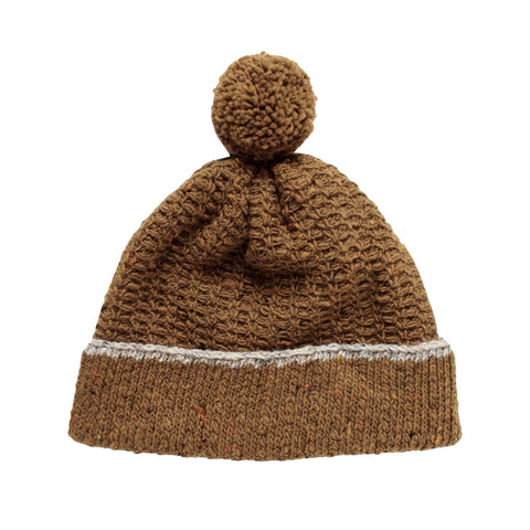 Shingle wool hat (ochre)