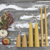 Stumpie beeswax candles