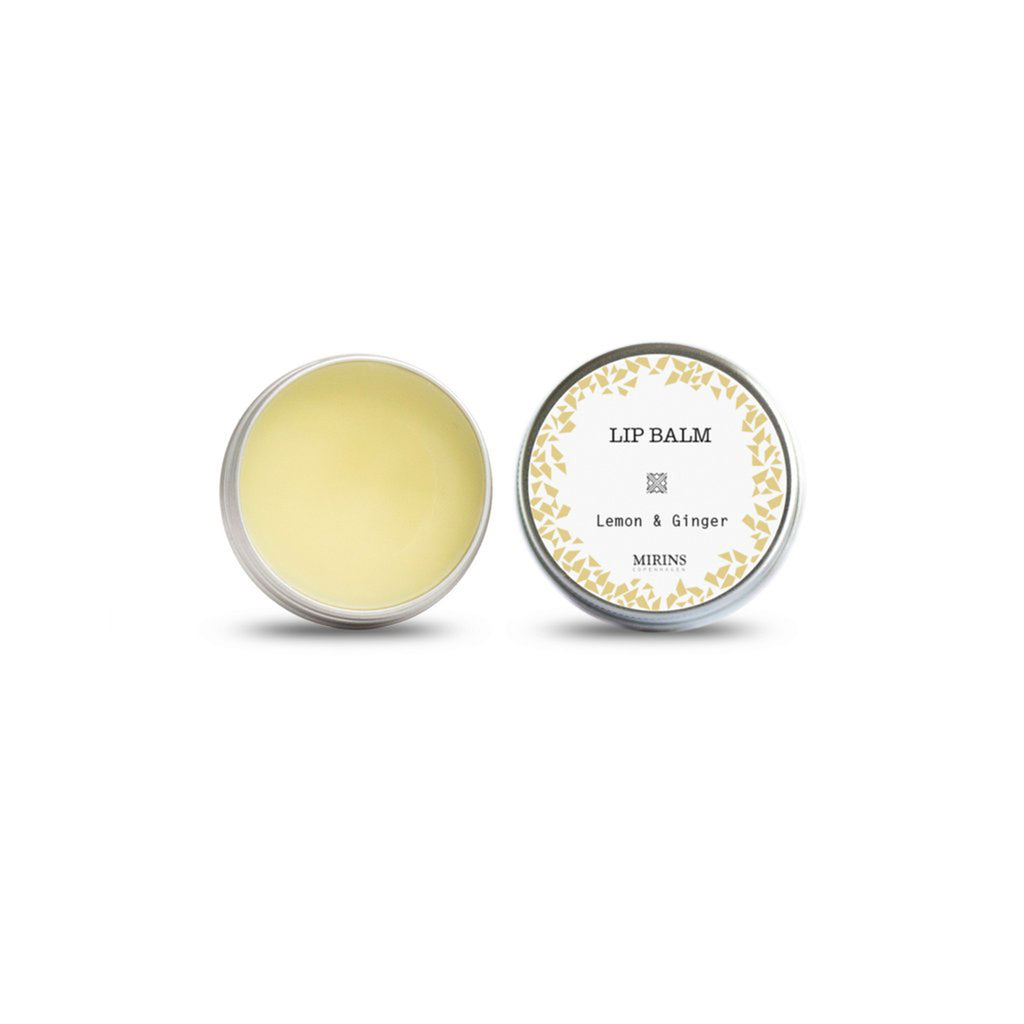 Lemon & ginger lip balm