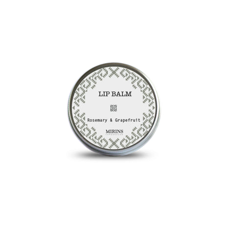 Rosemary & grapefruit lip balm