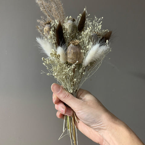 Miscanthus small posy