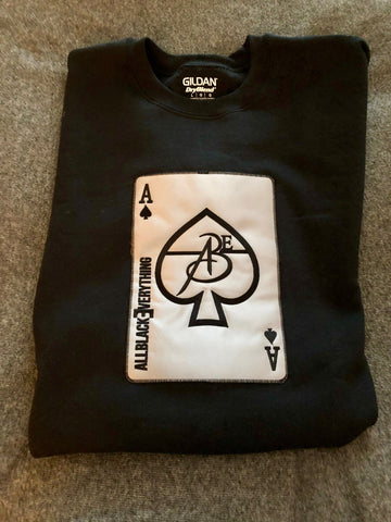 Ace Of Spade Platinum Edition (Black) Crew Neck Sweat Shirt