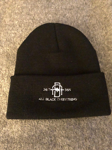 All Black Everything Beanie