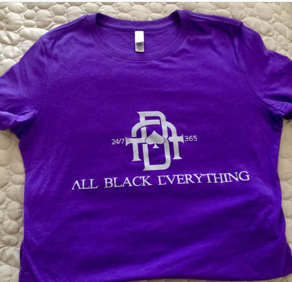 All Black Everything (Classic Women's Tee Shirts)