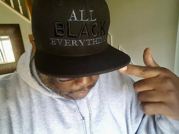 All Black Everything (Snapback Cap)