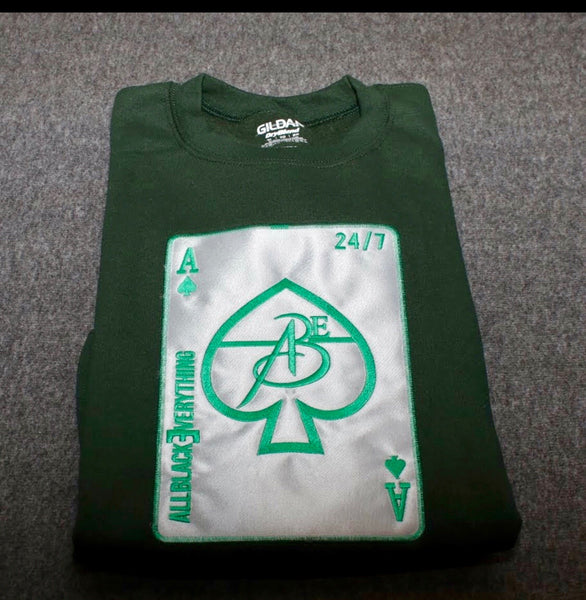 Ace Of Spade (GO GREEN - Platinum Edition) CREW NECK