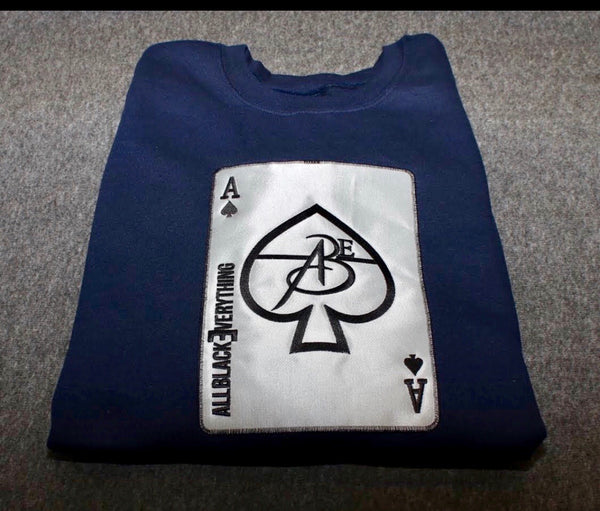 Ace Of Spade Platinum Edition Long Sleeve Shirt
