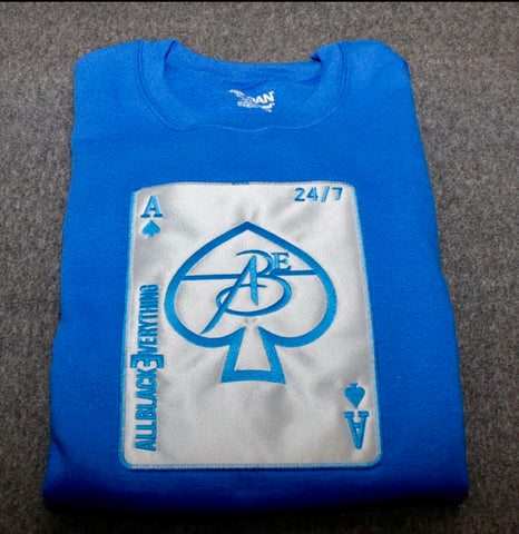 Ace Of Spade (Royal Blue)
