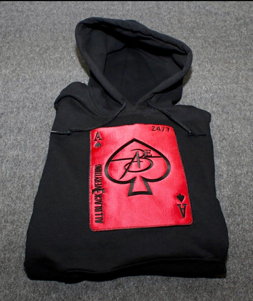 Ace Of Spade (Warriors Edition) Black Hoodie
