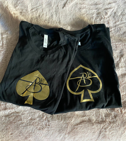 Black (Gold Ace) & Trace T-Shirt