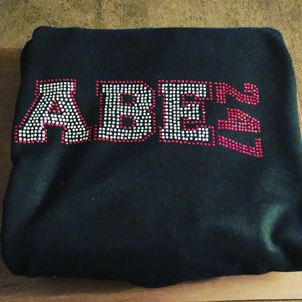 ABE247-Bling Hoodie by All Black Everything ♠️