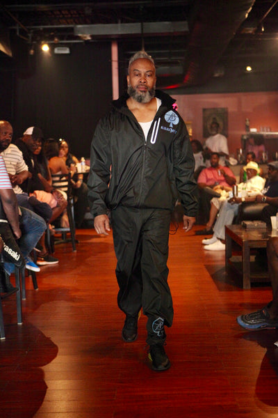 All Black Everything (Rain Suits) Colors (Black with Reflector Ace Of Spade)