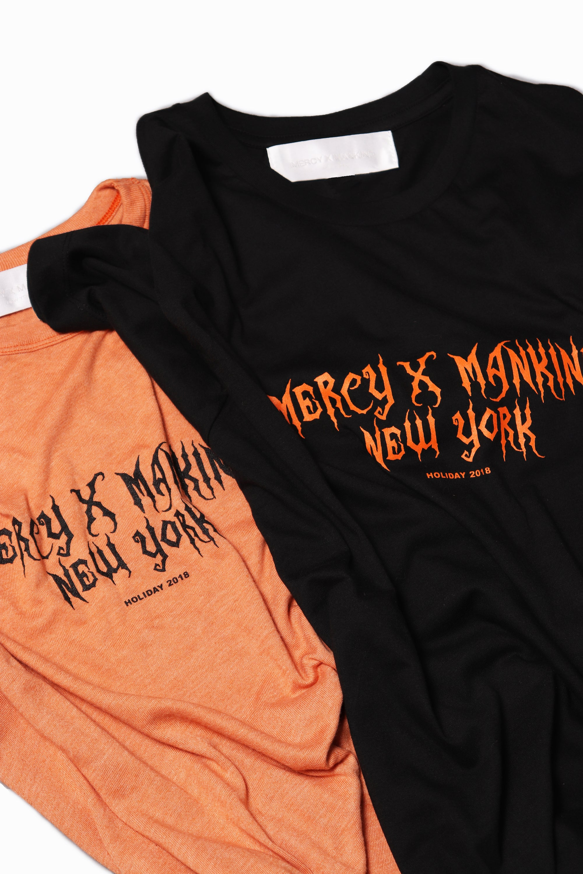 Holiday 2018 Tee / Orange