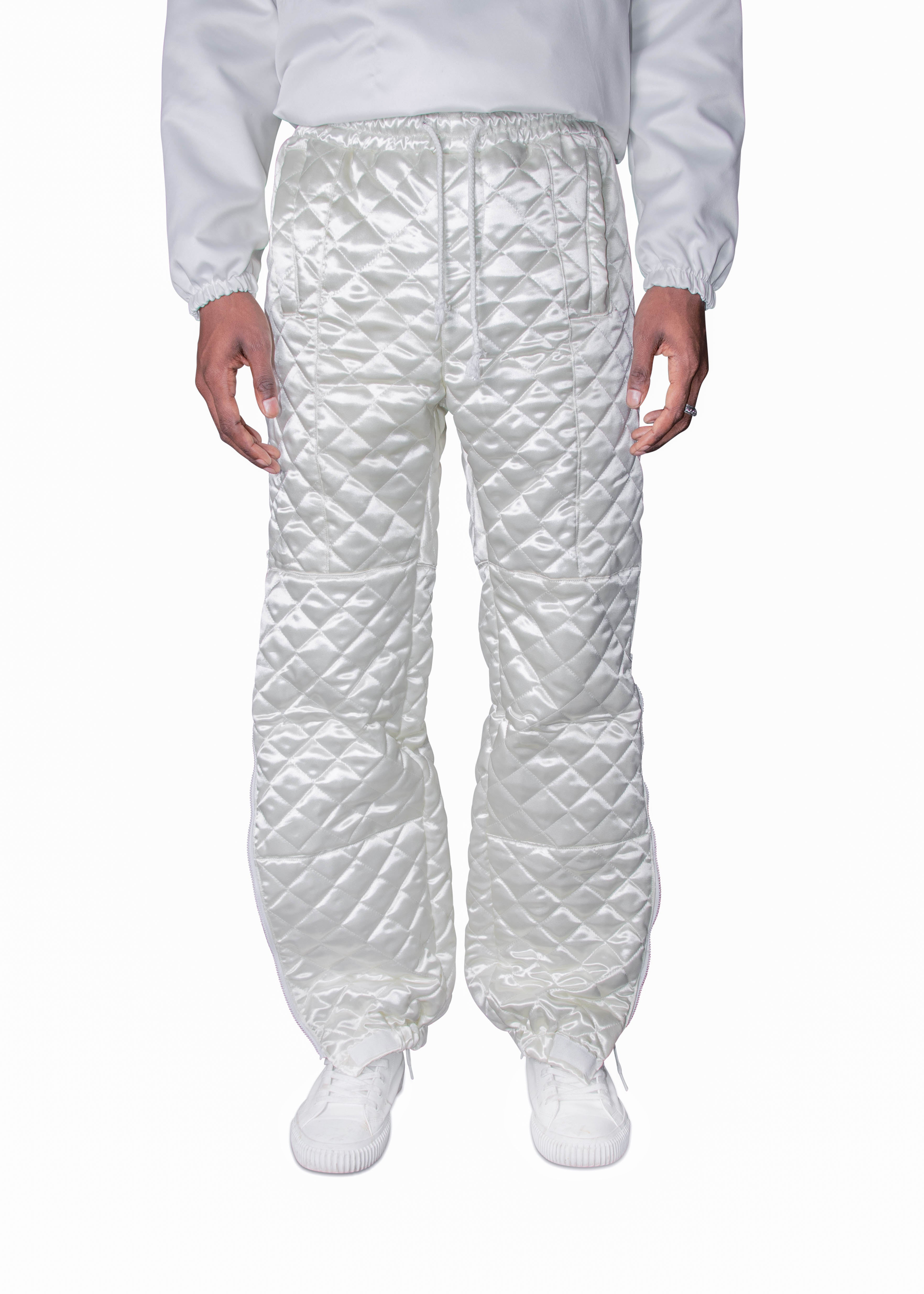 Quilted Panel Ski Trouser