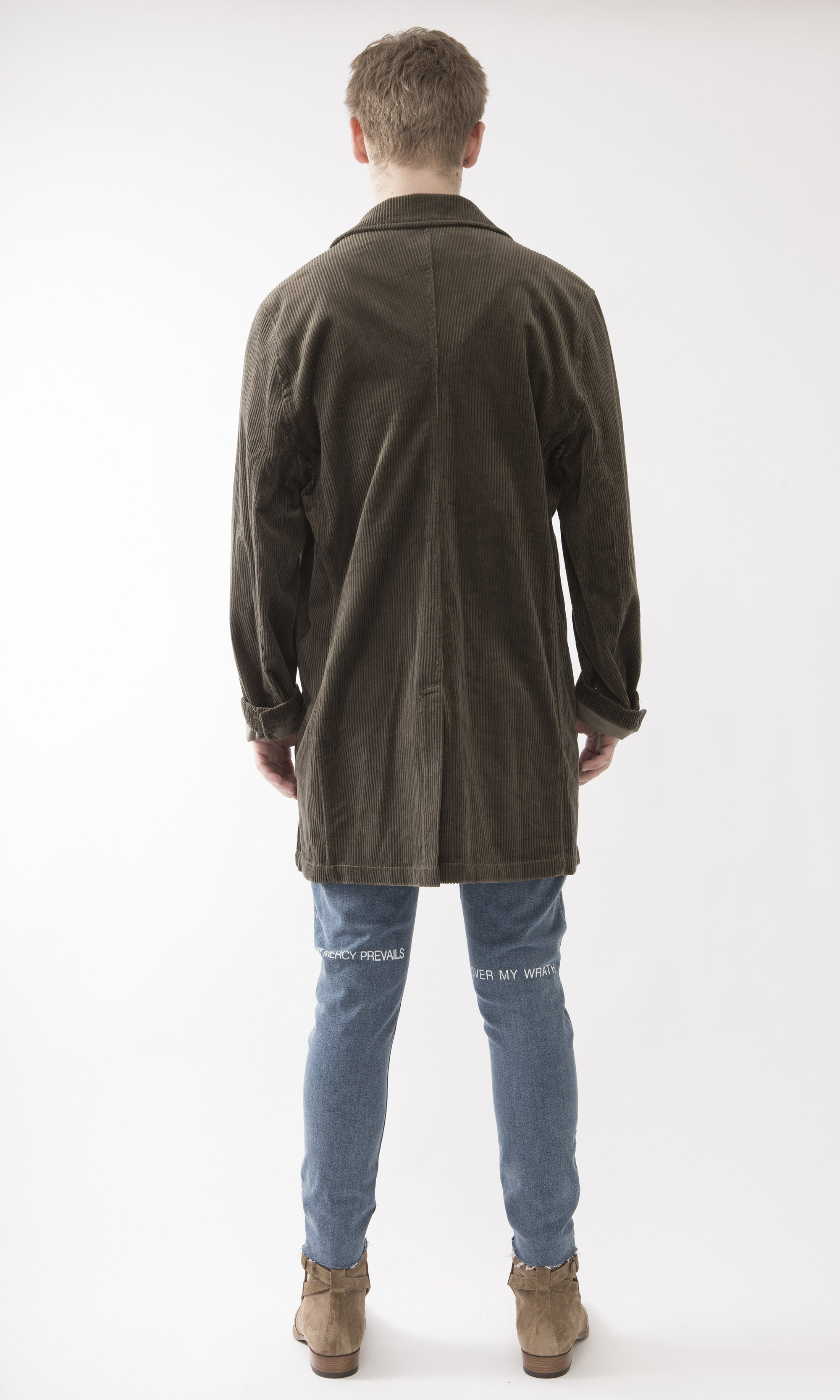 Corduroy Overcoat / Army