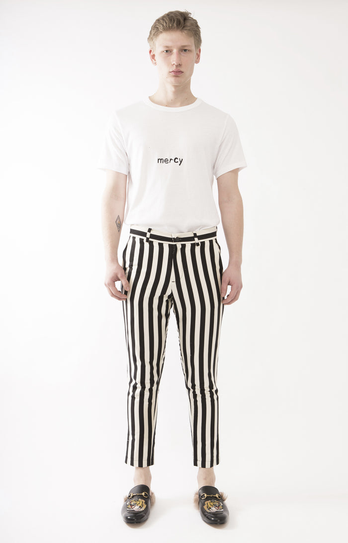 Parisian Striped Trousers