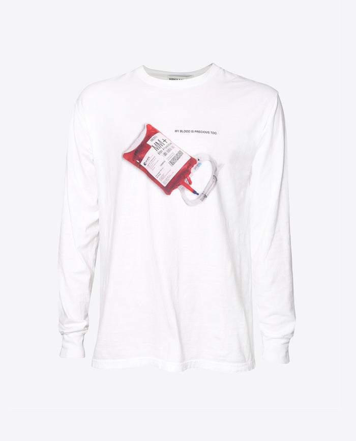"""Blood Bag"" Long Sleeve"