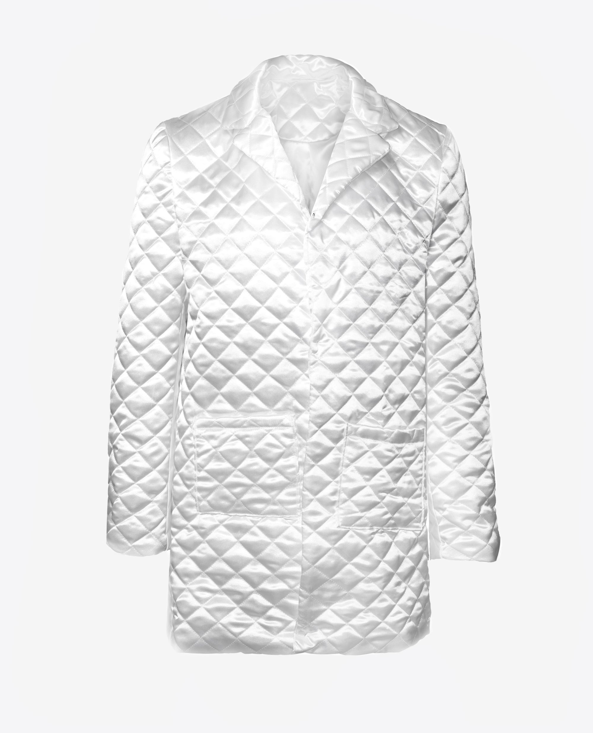 Quilted Puffer Coat / Unmodified