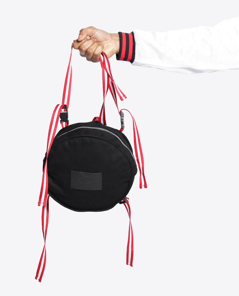 Infinity Bag / Black Denim