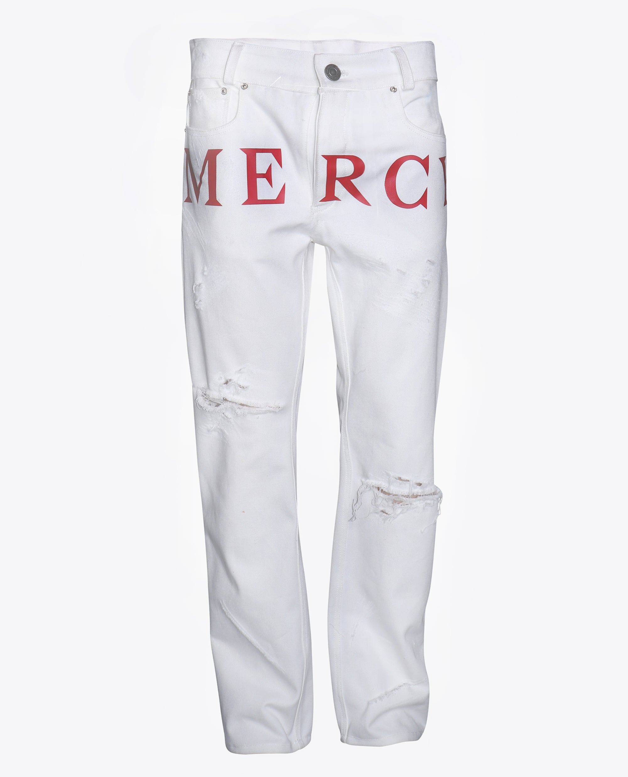 Mercy Vinyl Denim (White)