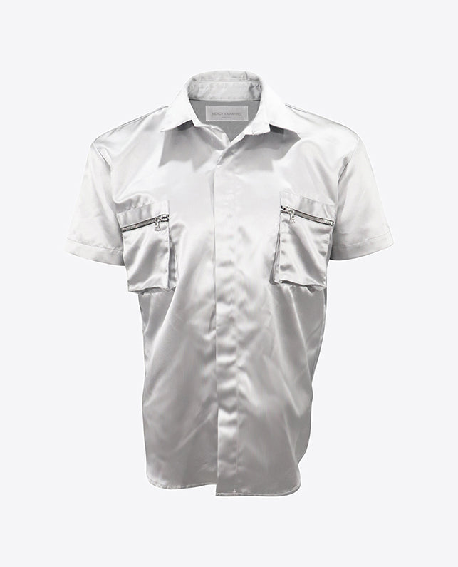 Titanium Cargo Button Down
