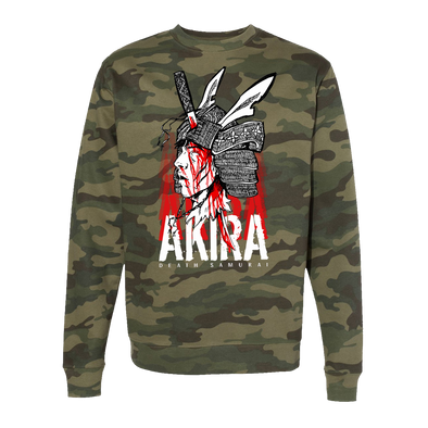Camo Warrior Crew Neck