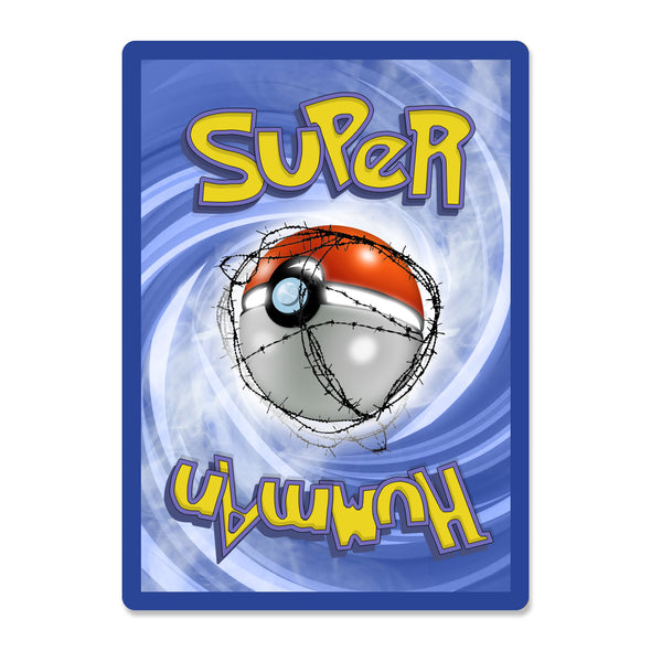 SUPER HUMMAN: Flying Elbow Trading Card