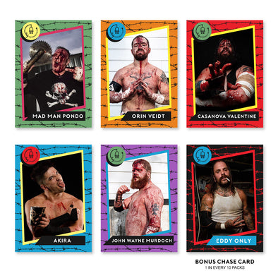 Deathmatch Darlings II Trading Card Set