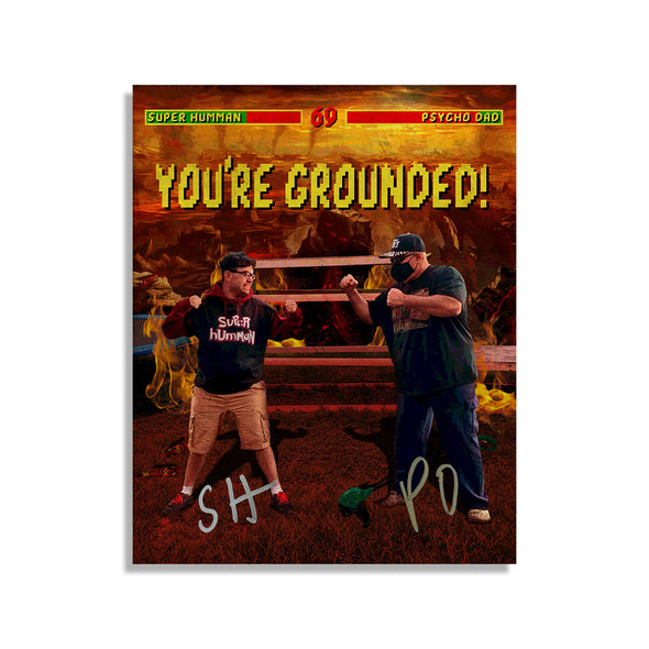 YOU'RE GROUNDED Signed 8x10