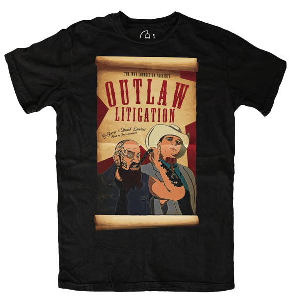 WANTED: Outlaw Litigation Tee