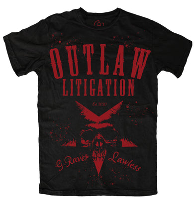 Outlaw Litigation Staple Tee