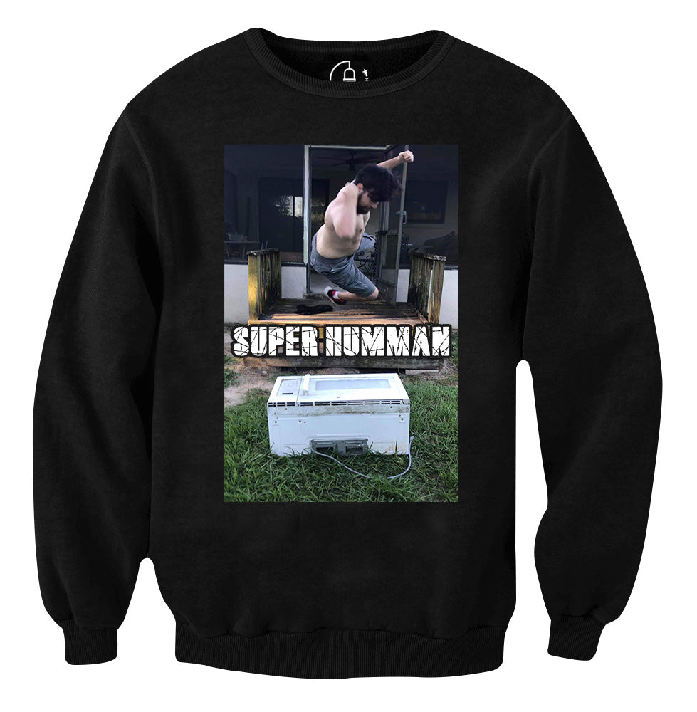 Super Humman Crew Neck The Indy Connection Superhuman definition, above or beyond what is human; super humman crew neck