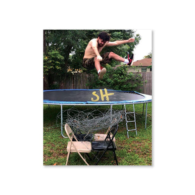 SUPER HUMMAN: Trampoline Style Signed 8x10