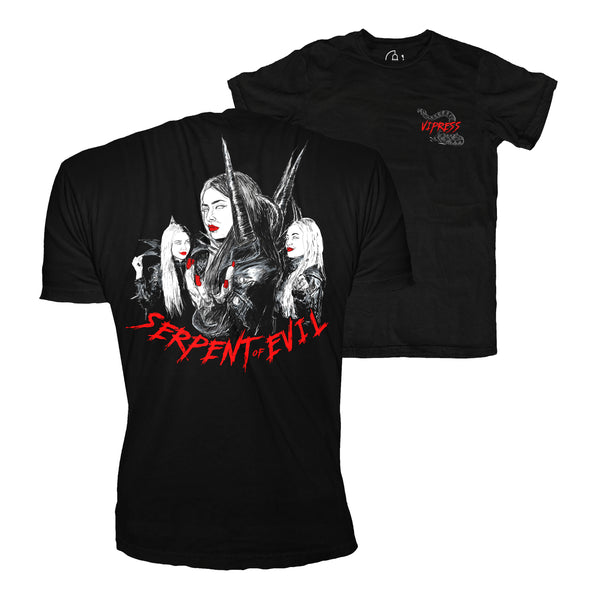 Vipress: Serpent of Evil Tee