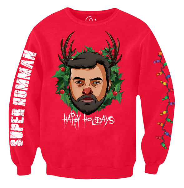 Humman Holidays Ugly Sweater x RED