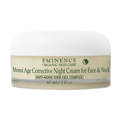 Eminence Organic Monoi Age Corrective Night Cream for Face & Neck