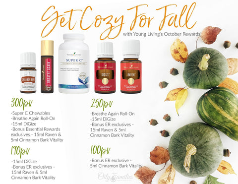 October Young Living Essential Rewards