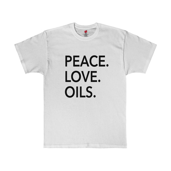 Peace Love and Oils Essential Oils Shirt