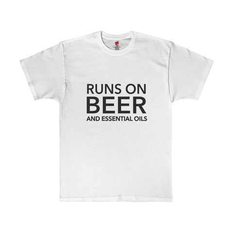Runs on Beer and Essential Oils Shirt
